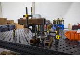 Процесс работы по изготовлению конструкций